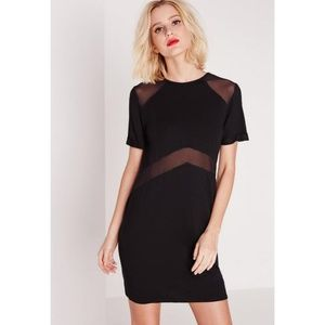 NWT Missguided Mesh T-shirt Dress